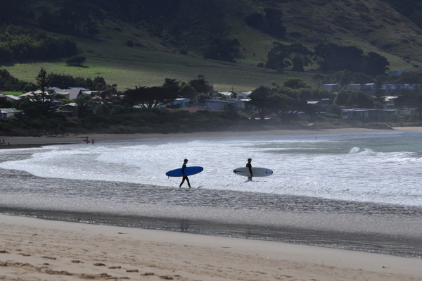 Fire and Water in Apollo Bay - The Plunge Down Under