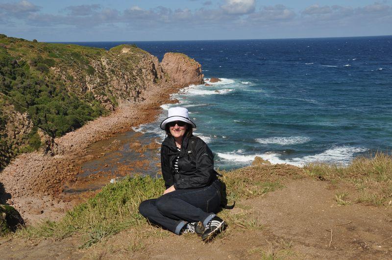 Christie at Cape Woolamai